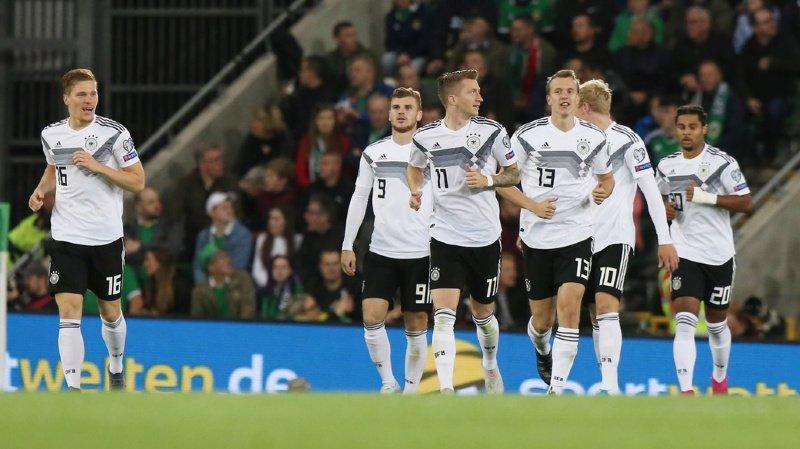 Après leur défaite à Hambourg face aux Pays-Bas, les Allemands se sont rassurés à Belfast.