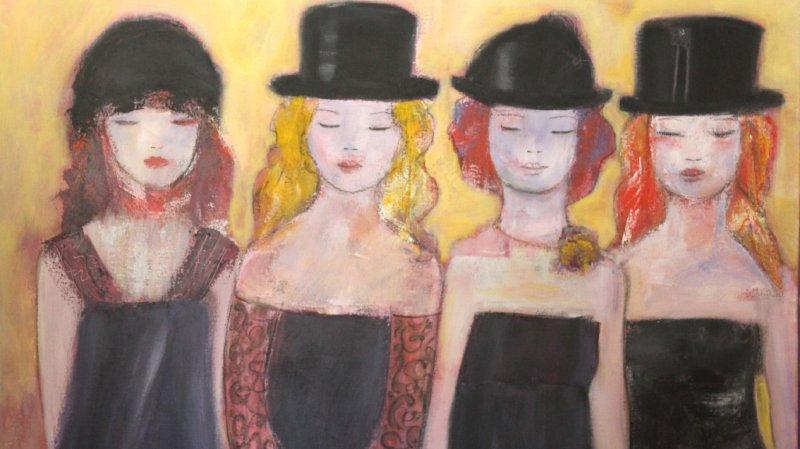Exposition peintures Rosemarie Favre