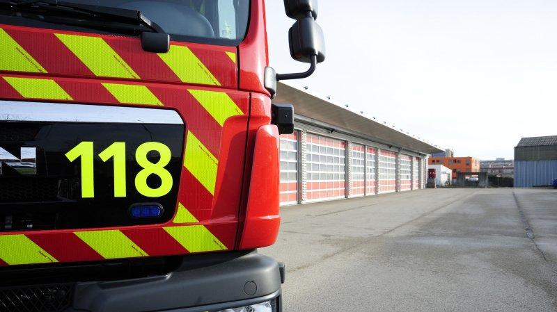 A la caserne de Nyon, les pompiers serviront le brunch, samedi 31 août. Mais pour y participer, il faut au préalable s'inscrire en ligne. SDIS. Service du feu. Photo Audrey Piguet