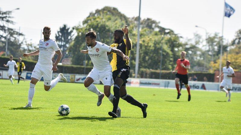 Une défaite au goût d'inachevé pour le Stade Nyonnais