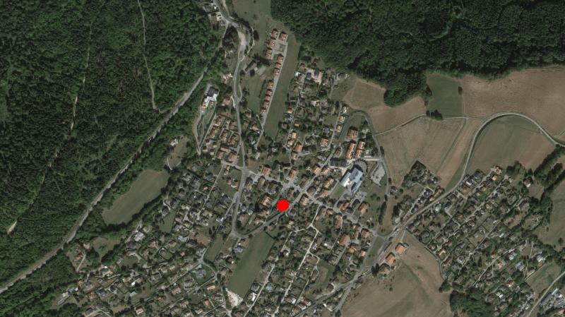 La nouvelle construction prendra place à la route de Saint-Cergue 16.