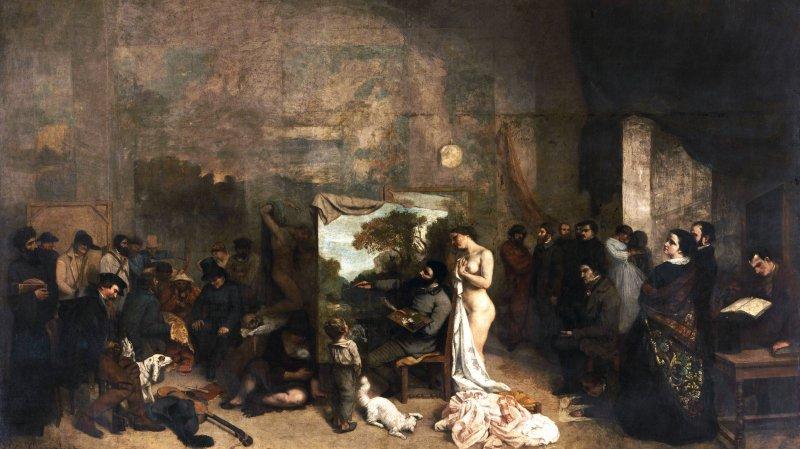Courbet, peintre réaliste?
