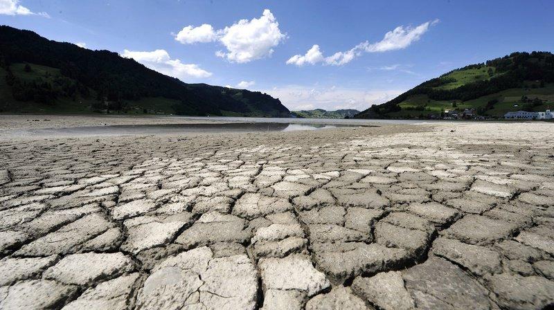 La canicule de 2003 deviendrait la norme dès les années 2050. Sur cette photo, le lac de Sihl, dans le canton de Schwytz, en 2011.