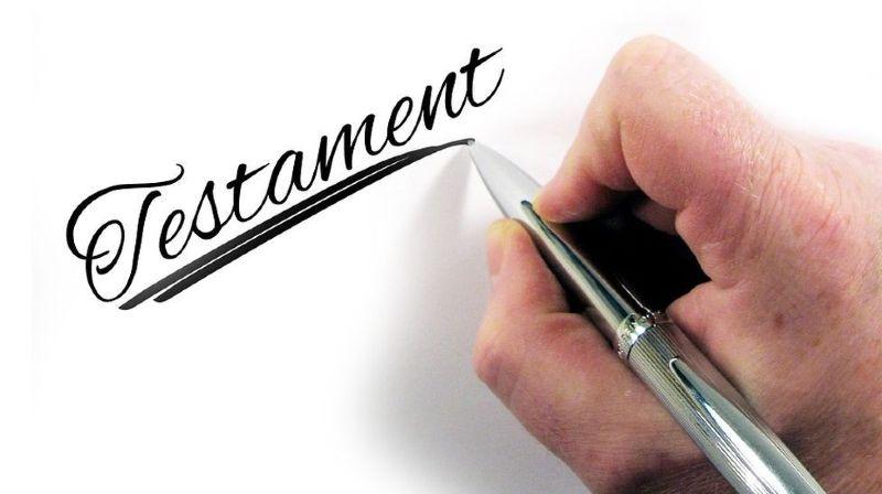 Un testament peut éviter des querelles de succession.