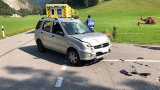 Collision frontale entre une voiture et une moto: deux blessés graves près de Charmey (FR)