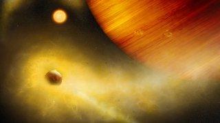 Astronomie: une exolune volcanique digne de Star Wars découverte par des chercheurs bernois
