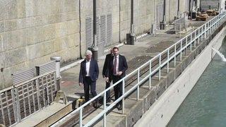 Canton de Genève: les SIG célèbrent les 75 ans du barrage de Verbois