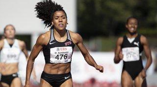 Athlétisme – Championnats de Bâle: Mujinga Kambundji bat le record de Suisse du 200 m