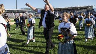 Zoug: la Fête fédérale de lutte suisse a attiré plus de 400'000 spectateurs