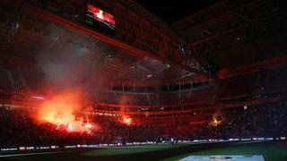 Football: Falcao accueilli en véritable héros par plus de 40'000 supporters de Galatasaray