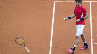 Tennis – Coupe Davis: la Suisse s'incline 3-1 face à la Slovaquie