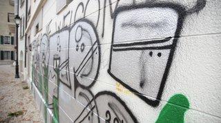 A Nyon, le règlement sur les tags finit dans le mur