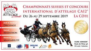 Championnats suisses et concours international d'attelage