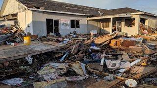 Les Bahamas ravagées par l'ouragan Dorian