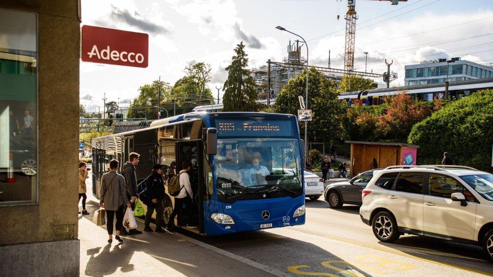 La cadence au quart d'heure accélère la fréquentation des bus nyonnais