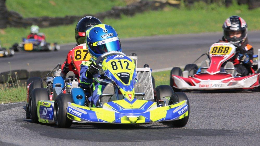 Après une saison victorieuse en Mini, Arnaud Voutat, qui fêtera ses 9 ans le 12 novembre, passera dès la saison prochain au niveau supérieur.