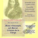 Concert M.A. Charpentier Ensemble Laudem Dicite