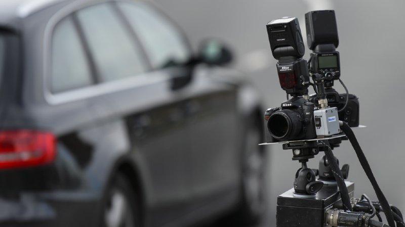 Romanel-sur Lausanne: élève conducteur flashé à 134km/h dans une localité à 50