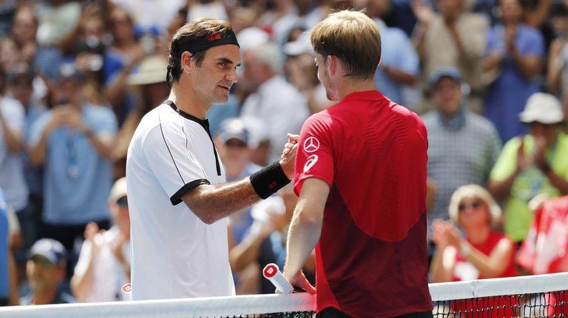 Federer a remporté neuf des dix matches qui l'ont opposé à Goffin, comme ici à l'US Open.