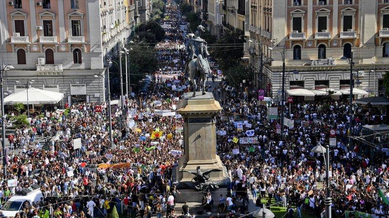 Grève pour le climat: plus d'un million de jeunes dans les rues du monde