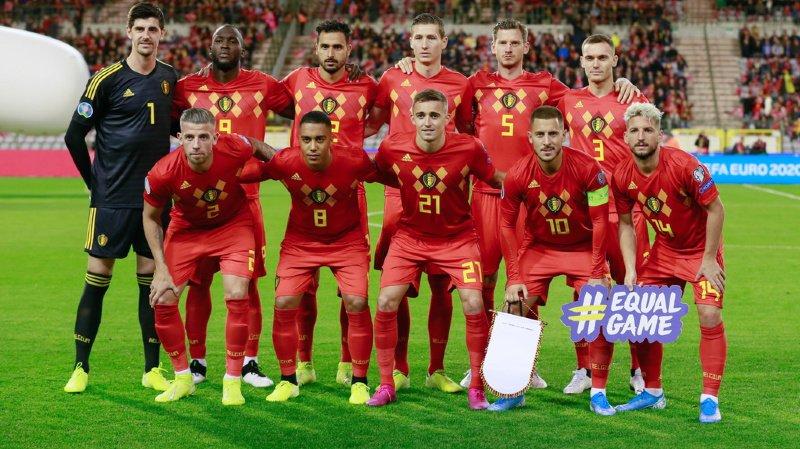 Football - Euro 2020: la Belgique première qualifiée après sa large victoire sur St-Marin