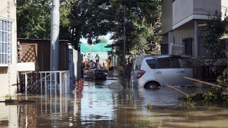 Intempéries: le Typhon Hagibis a fait au moins 26 morts au Japon