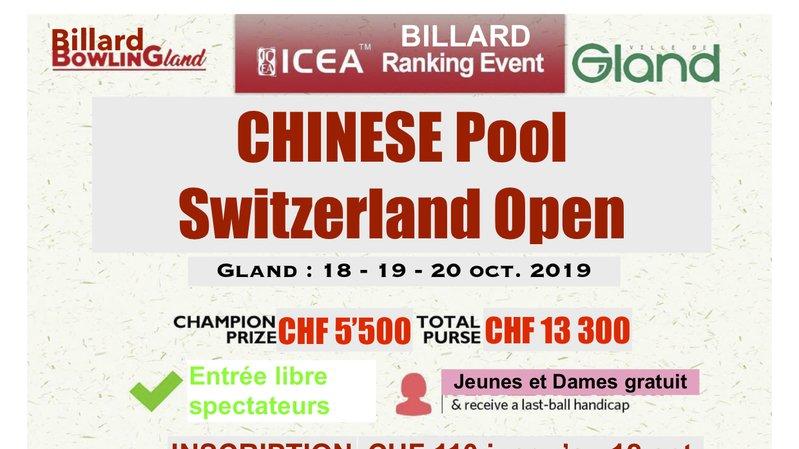 Tournoi de Billard Chinese Pool
