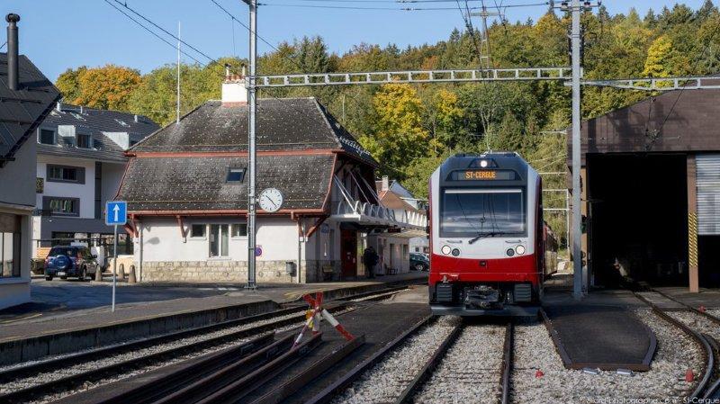 Saint-Cergue: lifting complet pour les passages à niveau