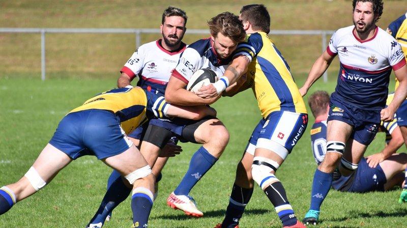 Victoire sans encombre pour le Nyon Rugby Club