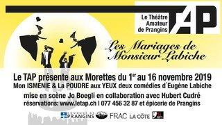 Les mariages de Monsieur Labiche - TAP