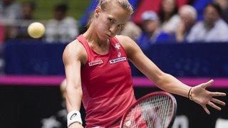 Tennis: battue par l'Australienne Stosur, Viktorija Golubic ne jouera pas la finale à Guangzhou