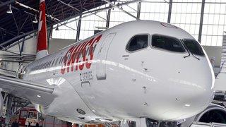 Transport aérien: la majorité des Airbus A220 de Swiss inspectés et remis en service