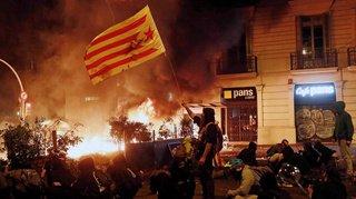 Espagne: Barcelone plonge dans le chaos après une manifestation d'indépendantistes