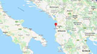 Balkans: un séisme d'une magnitude de 5,6 sème la panique en Albanie