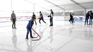 Nyon: la patinoire couverte fait son retour