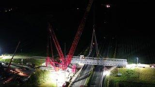 Bursins: le nouveau pont de l'A1 sera opérationnel à la fin du mois
