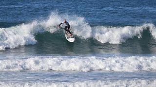 Steeve Fleury passe la douzième en stand up paddle surf