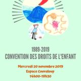 30e anniversaire Convention des droits de l'enfant