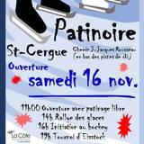 Ré-ouverture de la patinoire de St-Cergue