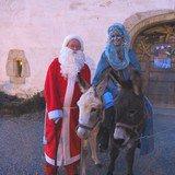 La Dame de Noël et Saint-Nicolas