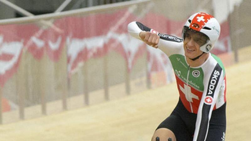Cyclisme – Coupe du monde à Hong Kong: le Vaudois Théry Schir 3e de l'Omnium