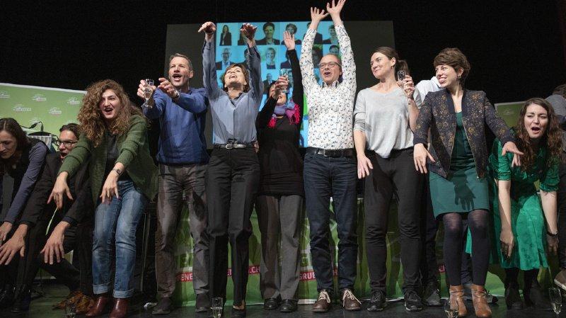 Fédérales 2019: forts de leur triomphe au National, les Verts veulent leur ministre