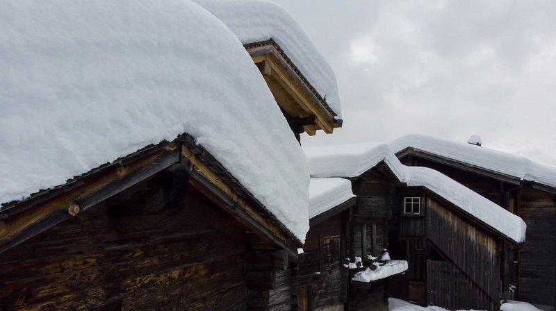 Météo: jusqu'à 100 cm de neige fraîche au sud des Alpes ce week-end