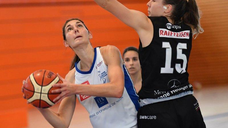 La top scorer du Nyon Basket Féminin a songé à tout plaquer