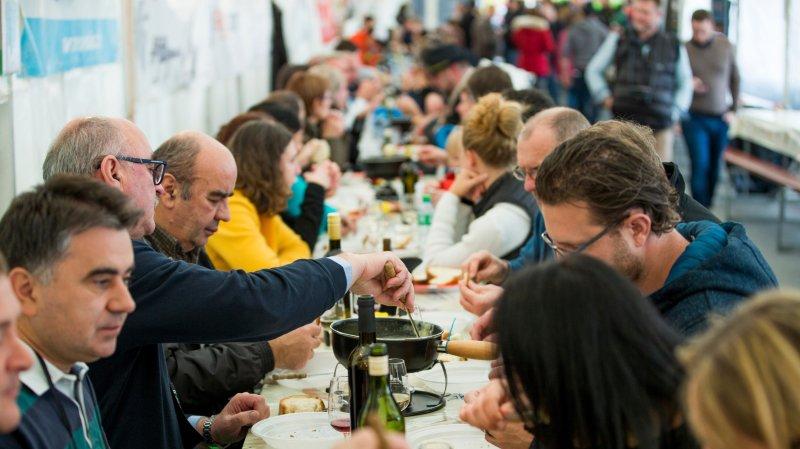 Tartegnin: le Mondial de fondue prend de la hauteur