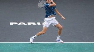 Tennis: fin de série pour Medvedev au Masters 1000 de Paris