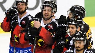 Hockey sur glace: Berra porte Fribourg Gotttéron au succès à Berne