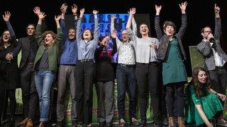 Les Verts célèbrent leur triomphe aux fédérales