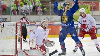 Hockey: Lausanne s'incline face à Davos, Bienne s'impose à Lugano