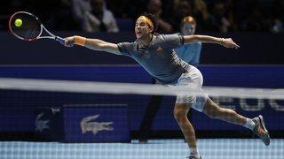 Tennis – Masters de Londres: Thiem bat Djokovic et file en demi-finales